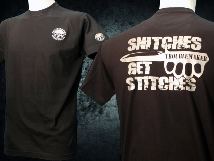 Shirt- Snitches Get Stitches