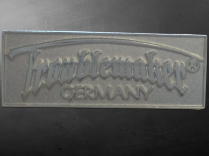 Pin - Troublemaker Germany (silber)