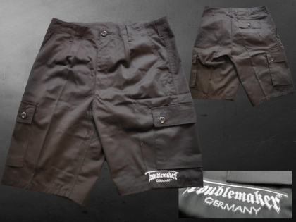 Troublemaker Combat Short (grau)