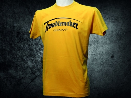 Troublemaker - Germany - original Shirt (gold)