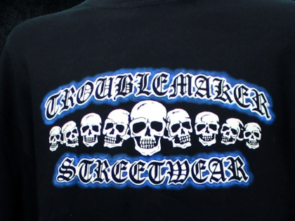 Troublemaker - Totenkopf Sweat