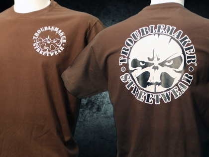 Troublemaker - Streetwear - big bad (brown)